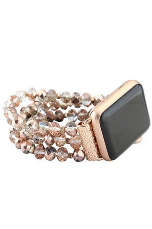 Apple Watch Beaded Bands