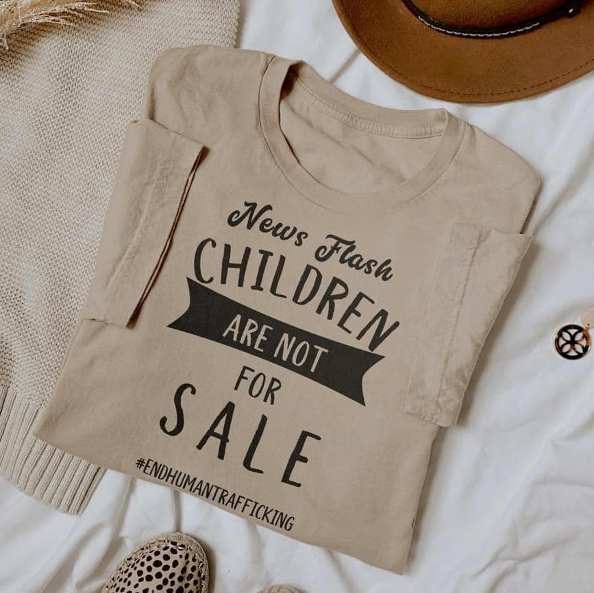 'Children are NOT for Sale' Tee