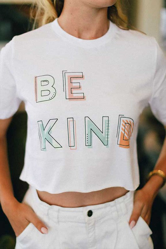 Be Kind Crop