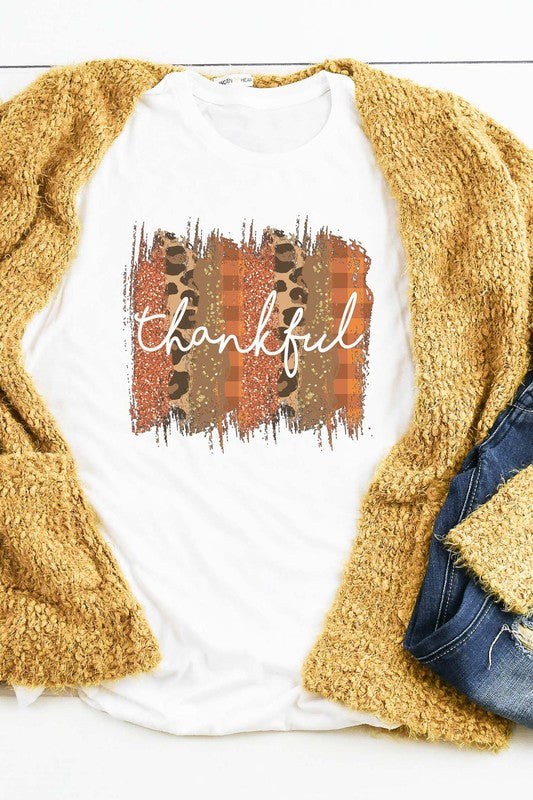Thankful Brushed Tee