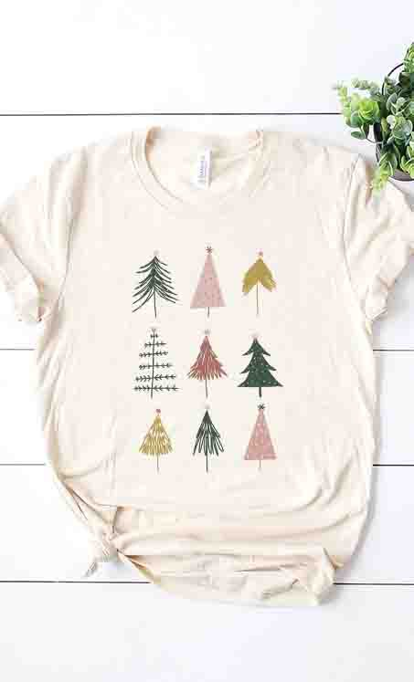 Little Christmas Trees Tee