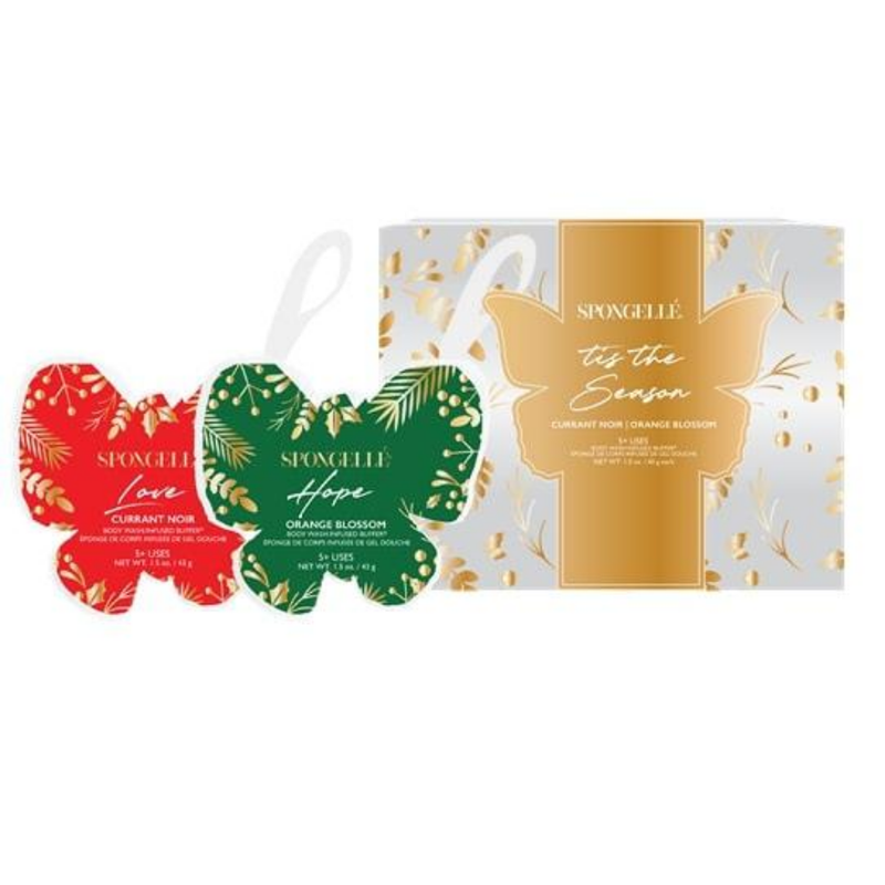 Spongellé - Holiday Butterfly Let's Celebrate Gift Set