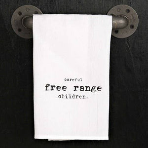 Free Range Children Dish Towel