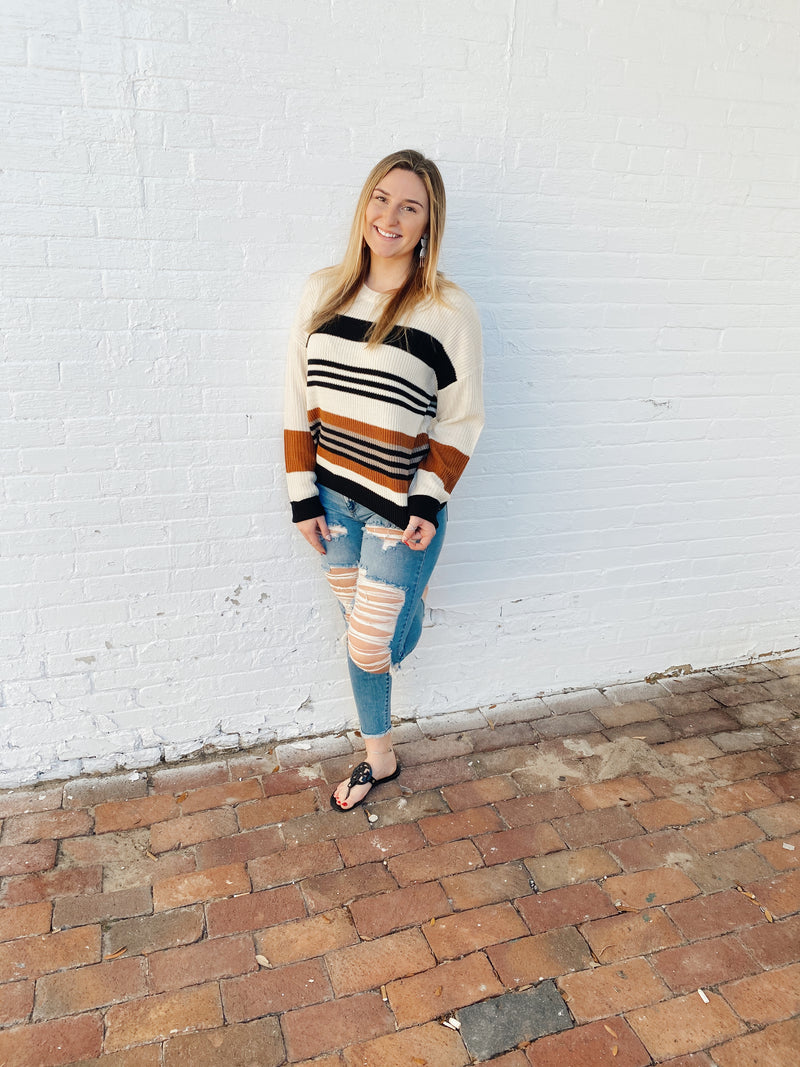 Simply Stripes Sweater