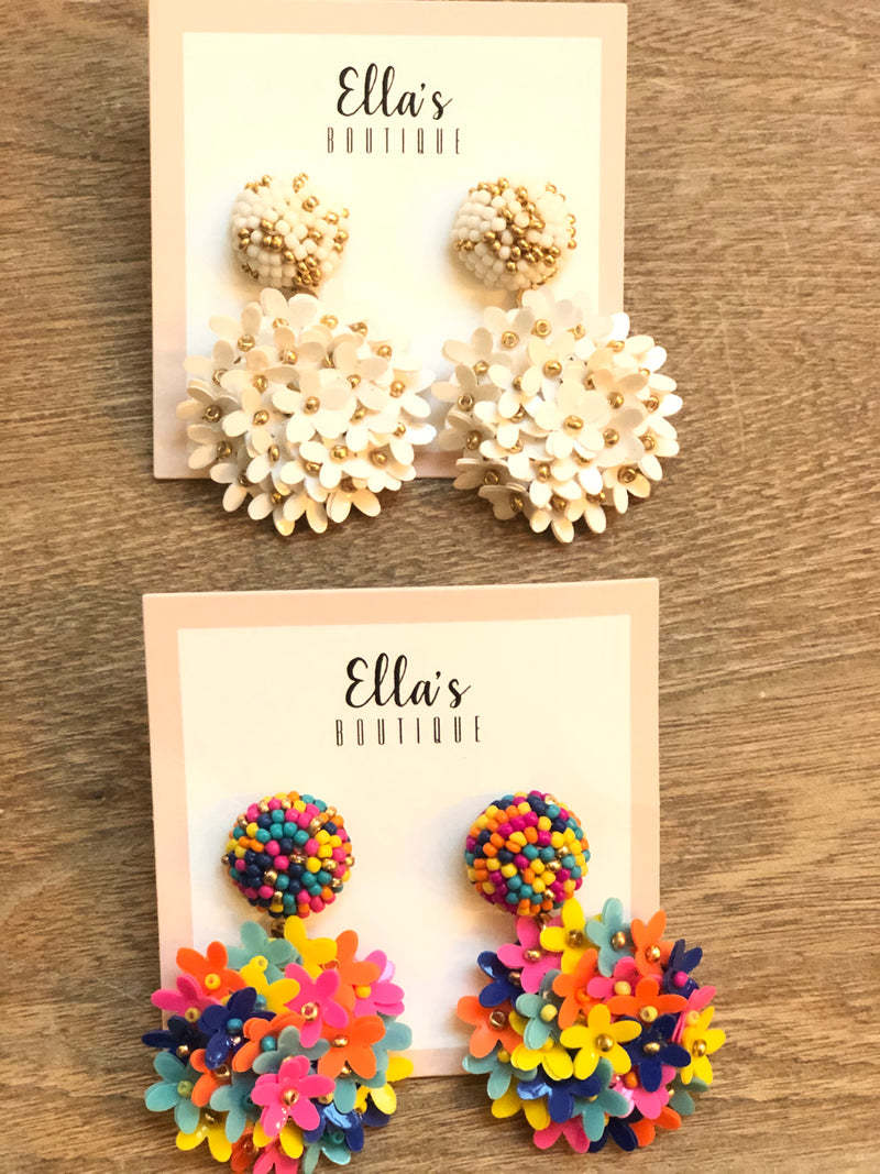 Floral Nights Earrings