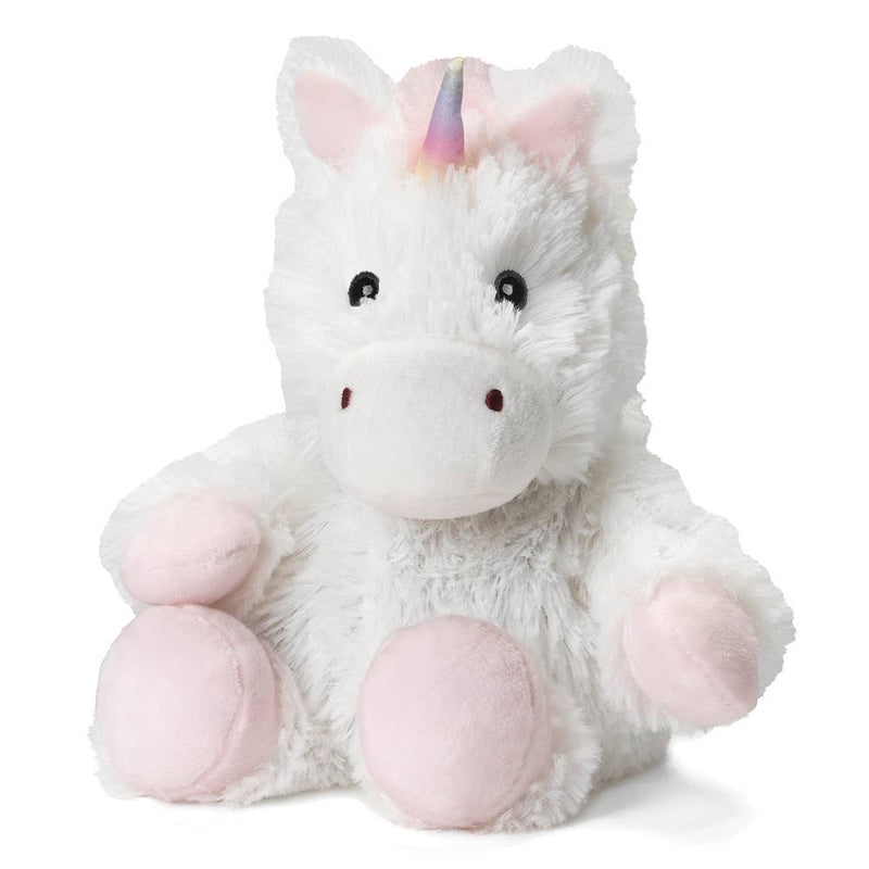 Warmies - White Unicorn Junior Warmies