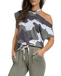 Make a Statement Camo Top
