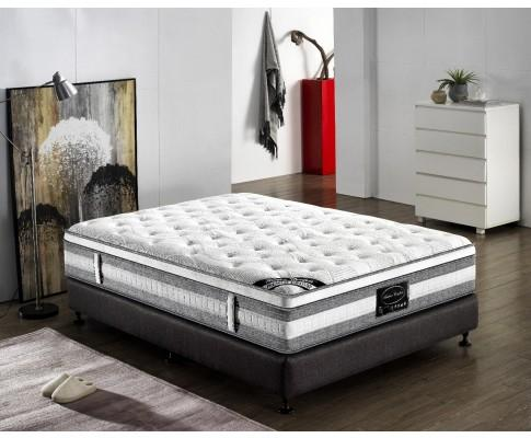 pocket spring mattress, giselle mattress, euro top mattress