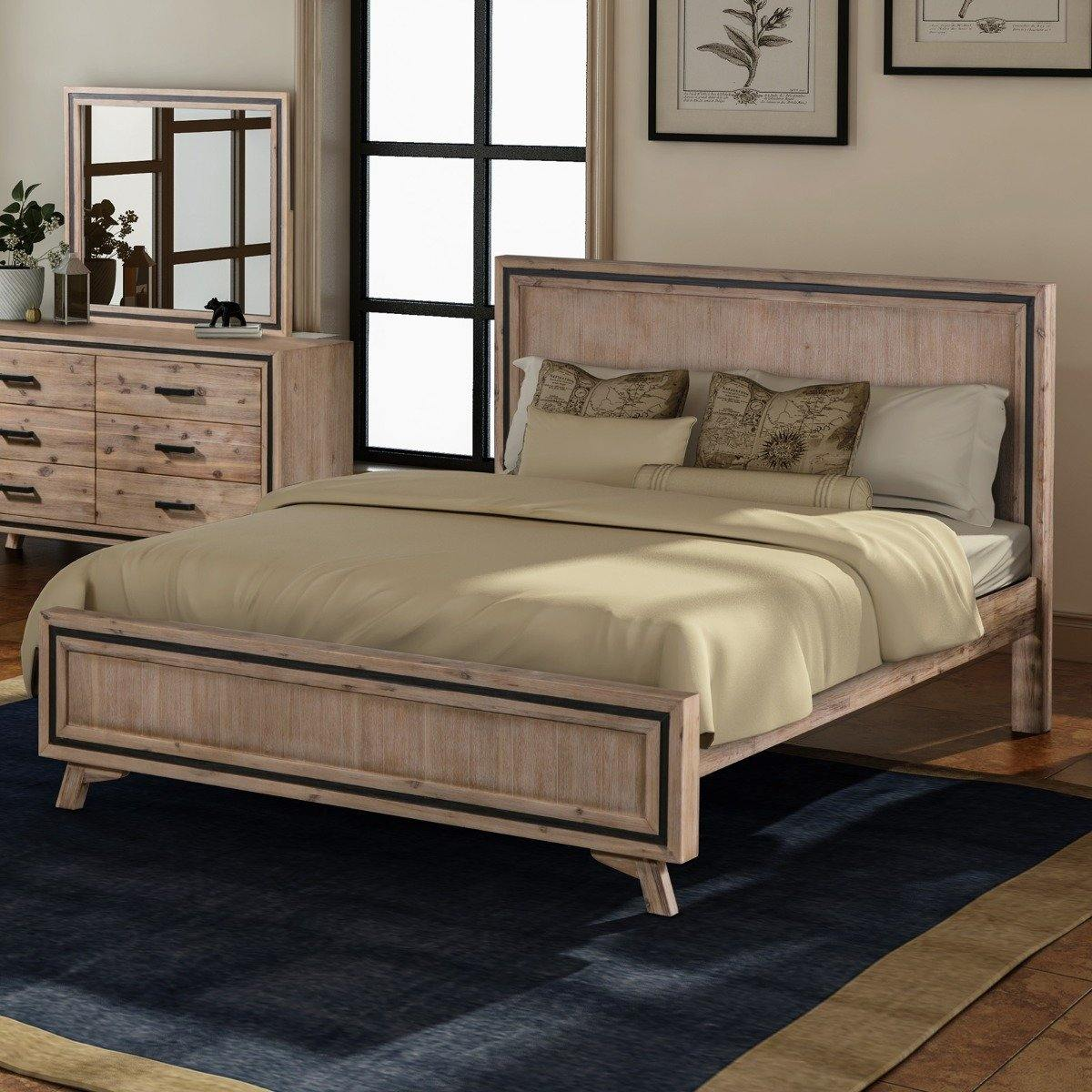 Seashore Queen Bed