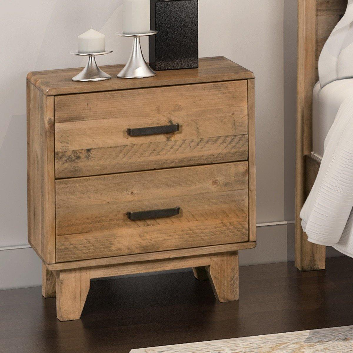 Woodstyle Bedside 2 drawers