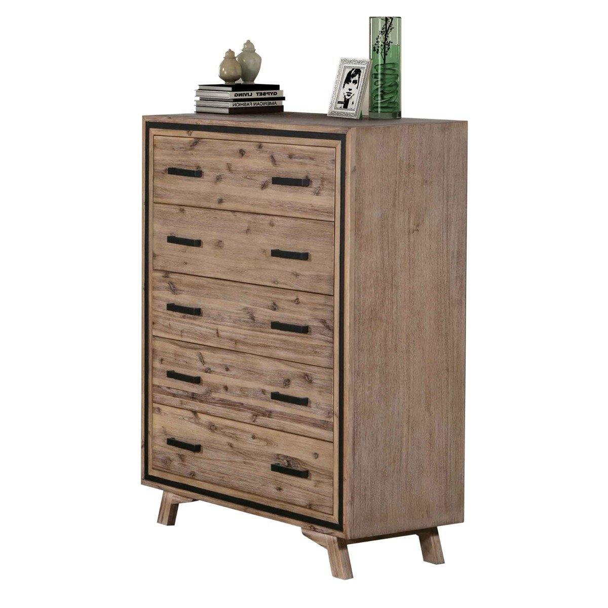 Seashore 2/3 Drawer Tallboy