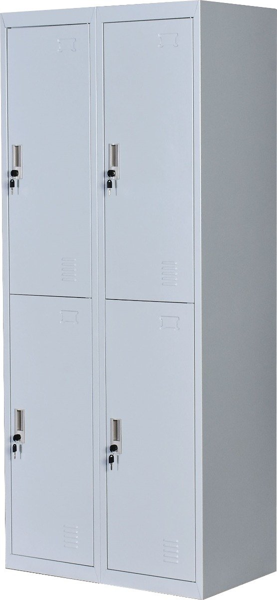 Four-Door Office Gym Shed Storage Locker - Evopia