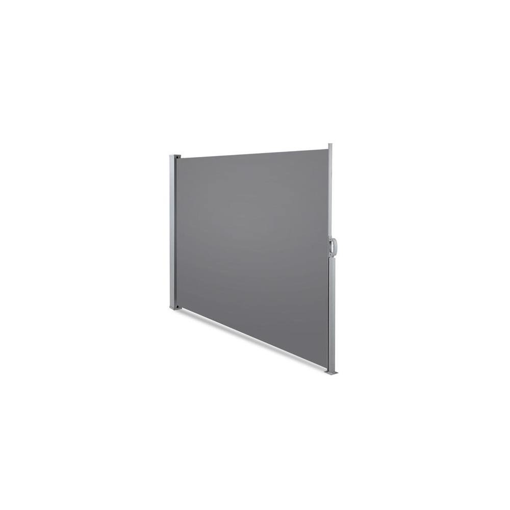 Instahut Retractable Side Awning Shade 2 x 3m - Grey - Evopia