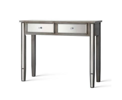 Artiss Mirrored Console Table Drawers Sideboard - Evopia
