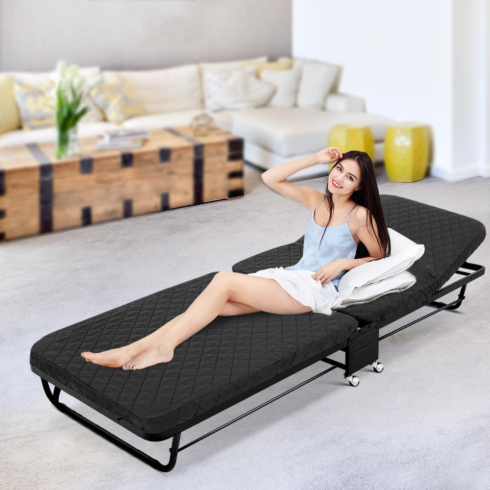 Artiss Portable Foldable Bed - Evopia
