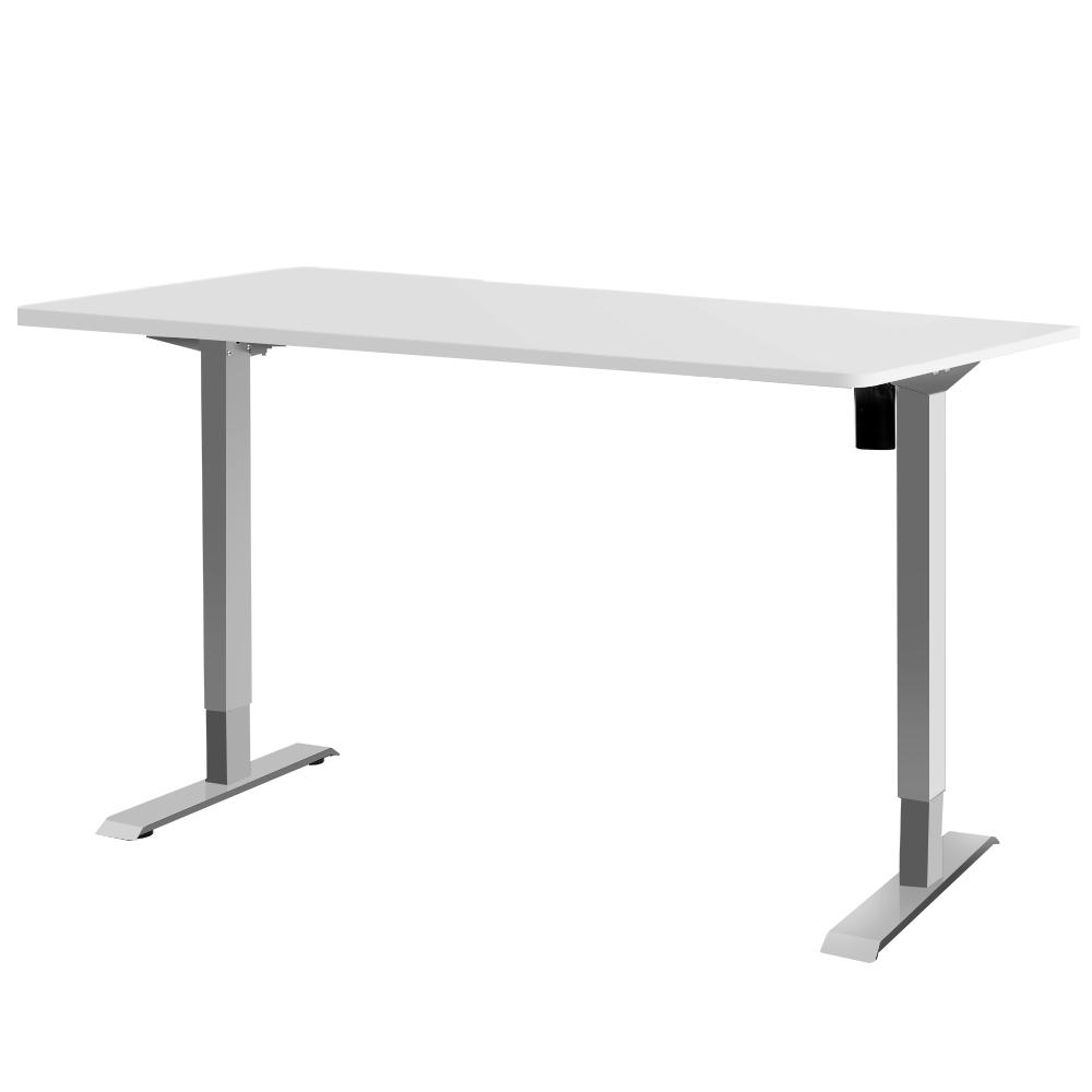 Artiss Standing Desk Height Adjustable Motorised Electric Sit Stand Computer Table 140cm - Evopia