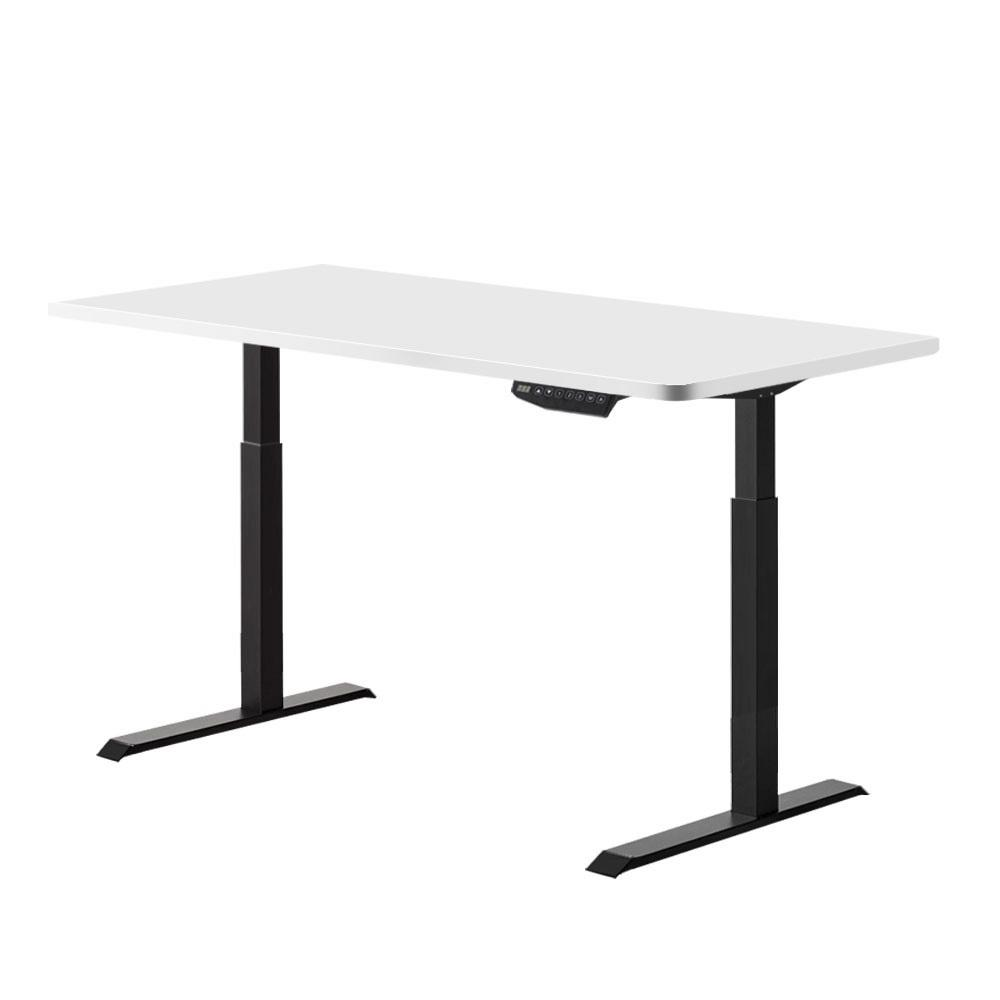 Artiss Standing Desk Sit Stand Riser Motorised Electric Computer Laptop Table 120cm Dual Motor - Evopia