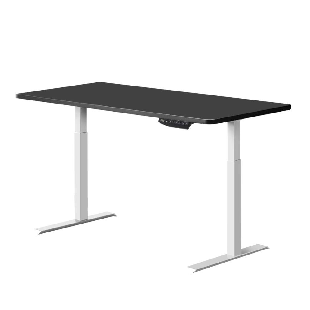 Artiss Standing Desk Adjustable Sit Stand Table Motorised Electric Computer Laptop Desks Dual Motors 140cm - Evopia