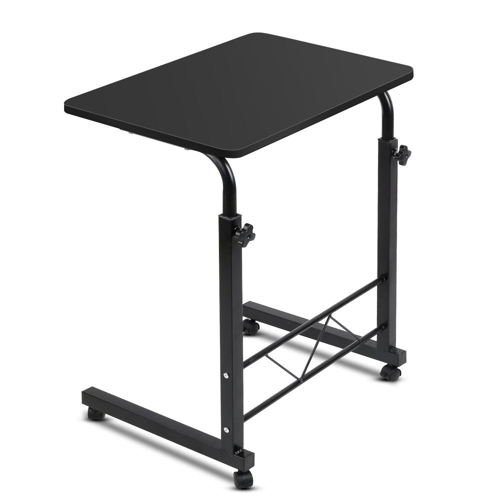 Portable Adjustable Black Wooden Laptop Stand - Evopia
