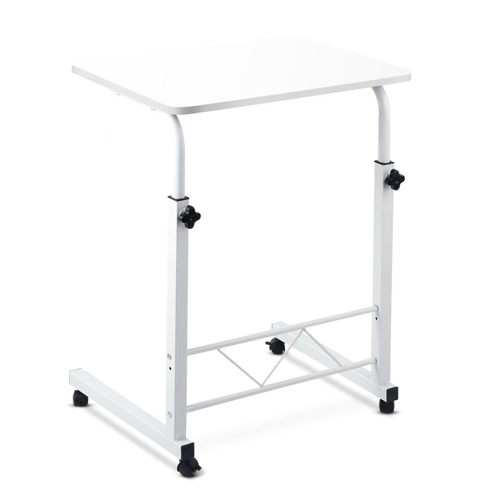 Portable Adjustable White Wooden Laptop Stand - Evopia