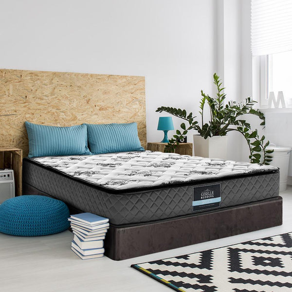 GISELLE PILLOW TOP 24cm MATTRESS - SINGLE - Evopia