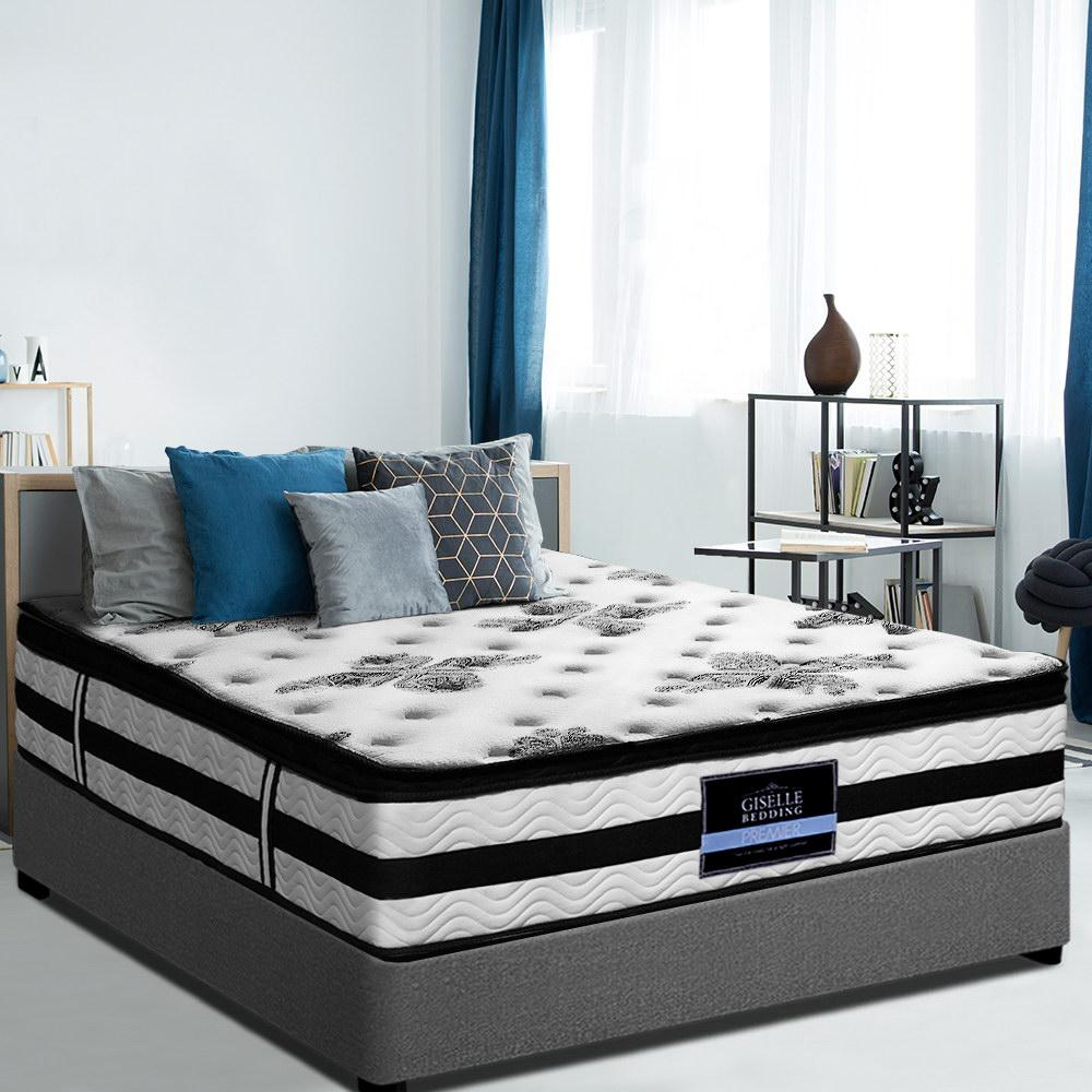 Giselle Premier Euro Top Mattress extra thick King Single - Evopia