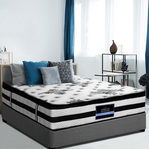 PREMIER EURO TOP MATTRESS BY GISELLE - EXTRA THICK - SINGLE - Evopia