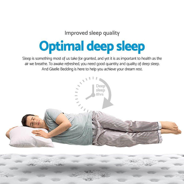 Get an optimal deep sleep on a memory foam mattress