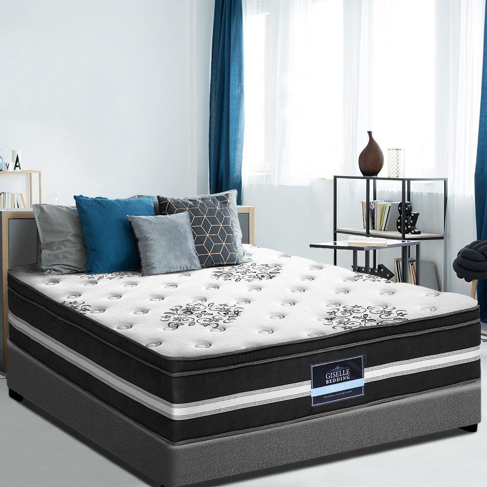 Euro Memory Foam Top Mattress by Giselle Queen - Evopia