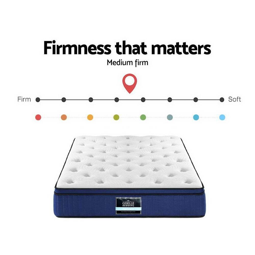 Giselle Cool Gel Memory Foam 34 cm Double Mattress - Evopia
