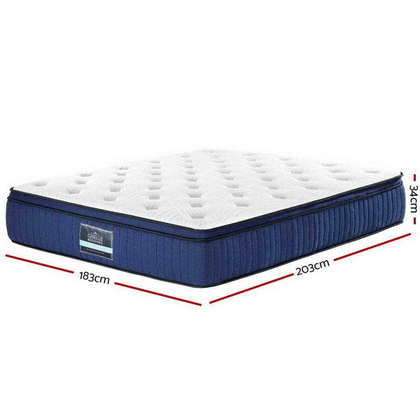 dimensions of a king cool gel mattress
