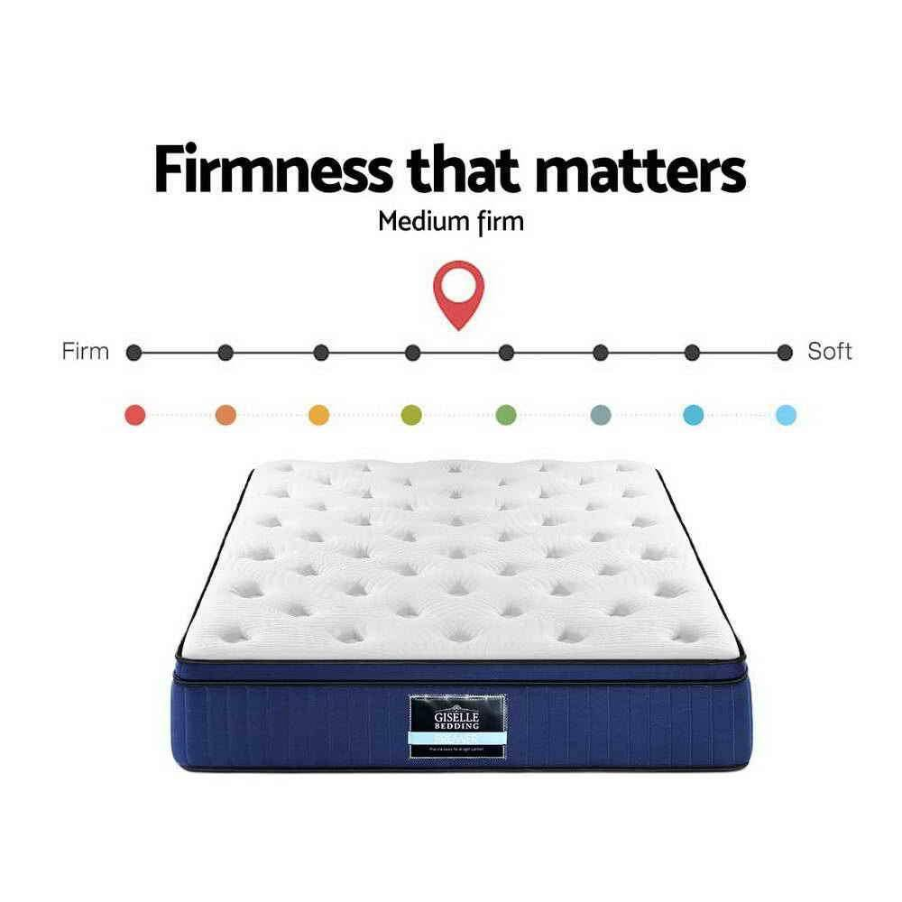 Giselle Cool Gel Memory Foam  34 cm Queen Mattress - Evopia
