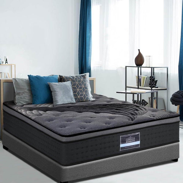 Giselle bamboo charcoal queen mattress