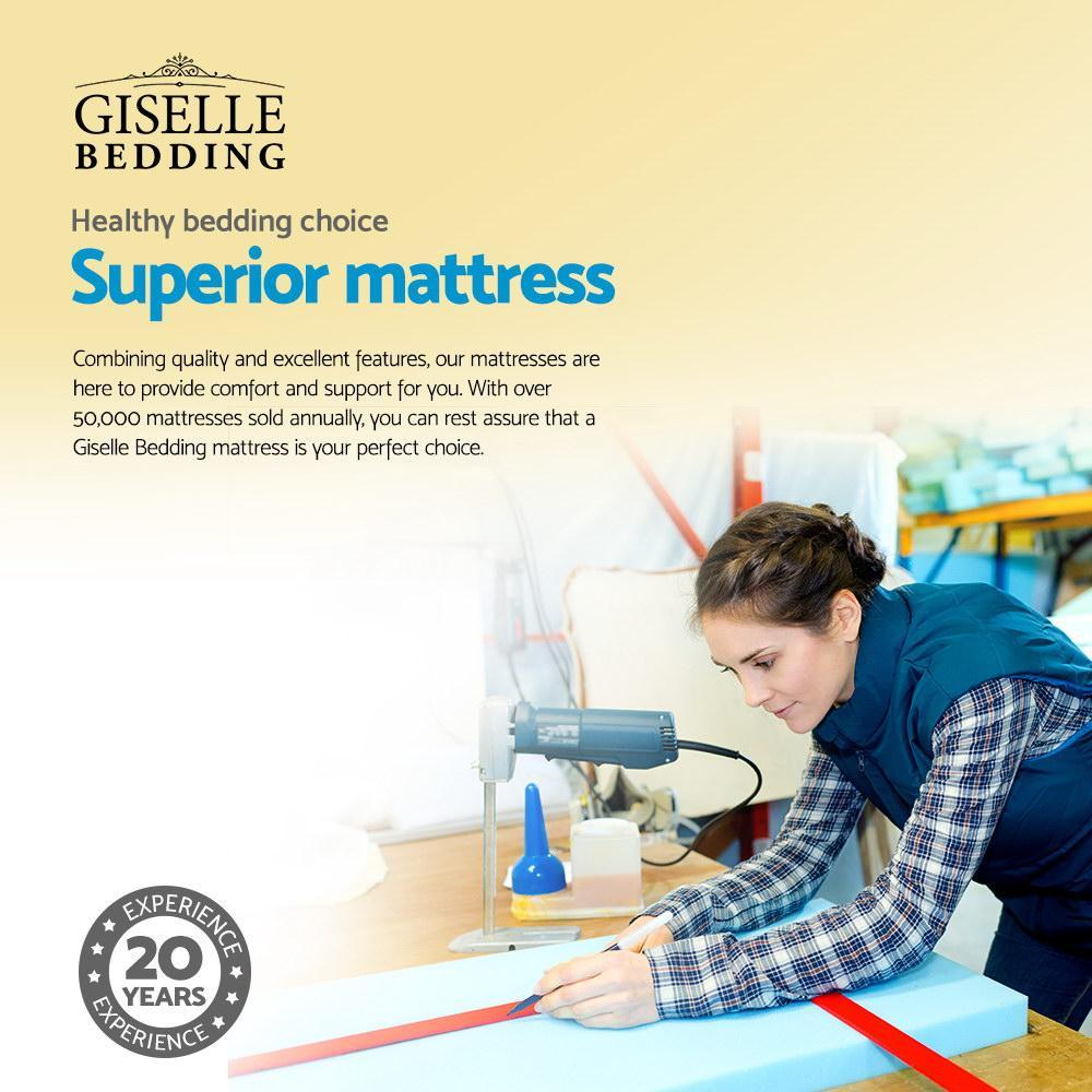 GISELLE ELASTIC FOAM MATTRESS - DOUBLE - Evopia