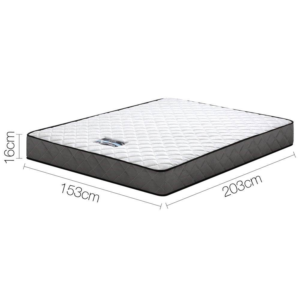 BONNELL TIGHT TOP SPRING MATTRESS - QUEEN - Evopia