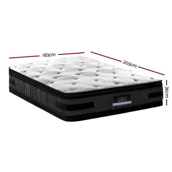 dimensions of a 36cm hotel king mattress