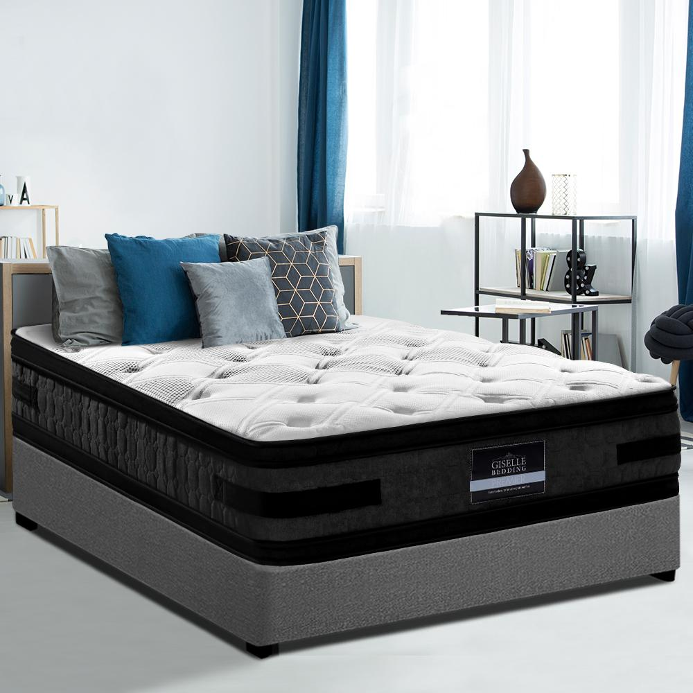 Giselle Luxury Hotel 36cm Euro Top Mattress- King - Evopia