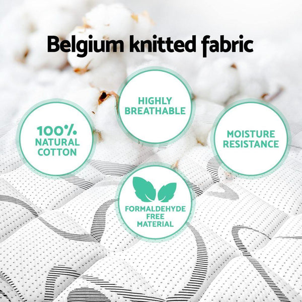 benefits of belgium knit fabric on tight top mattress