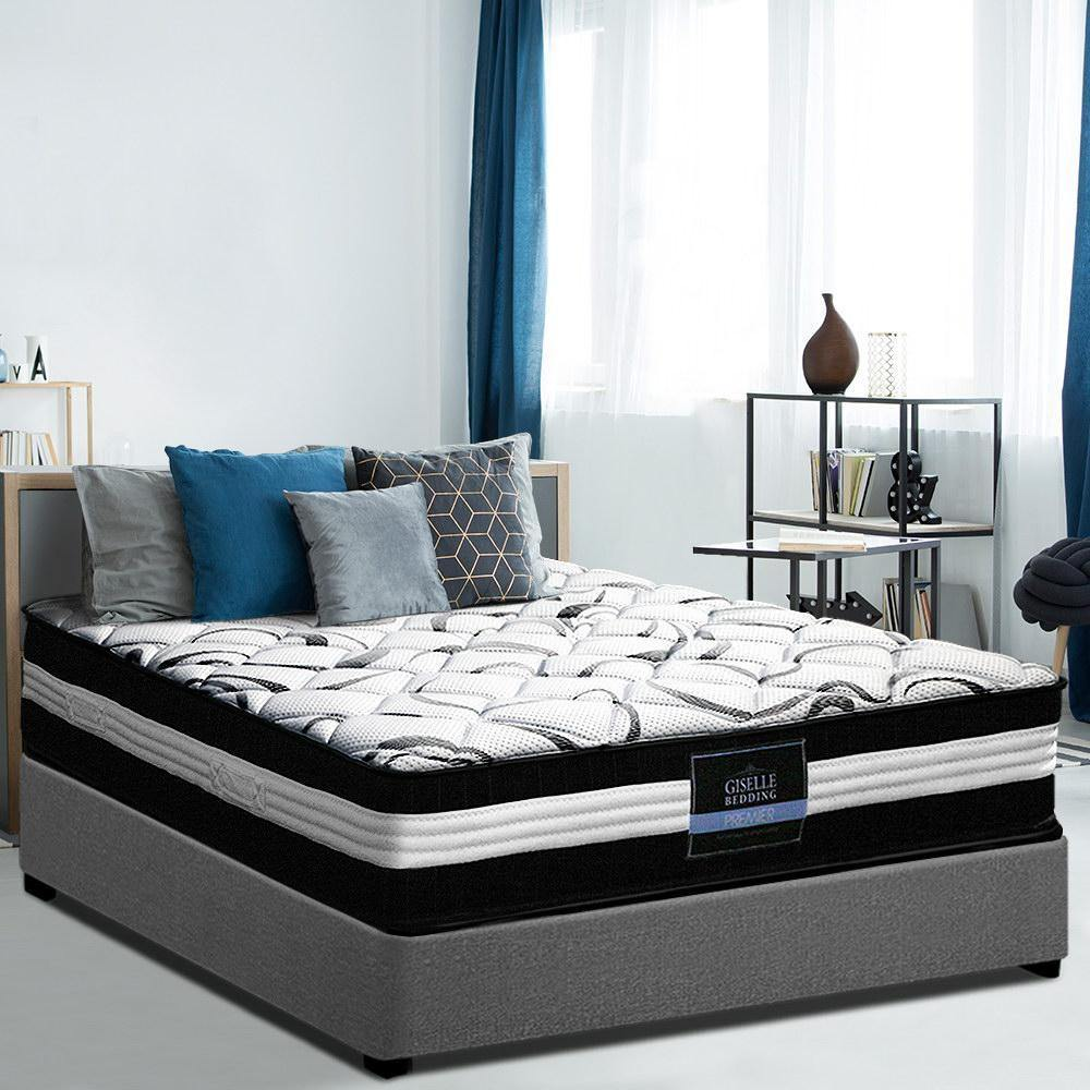 Giselle Firm Euro Spring 30 cm King Mattress - Evopia