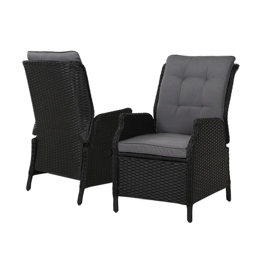Gardeon Outdoor Recliner Chairs Sun Lounge