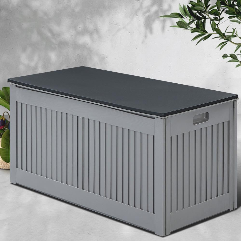 Gardeon Outdoor Storage Box Container Garden Toy Tool Sheds 270L - Evopia