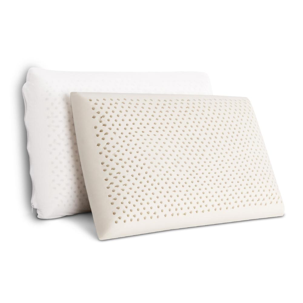 Giselle Bedding Set of 2 Natural Latex Pillows - Evopia