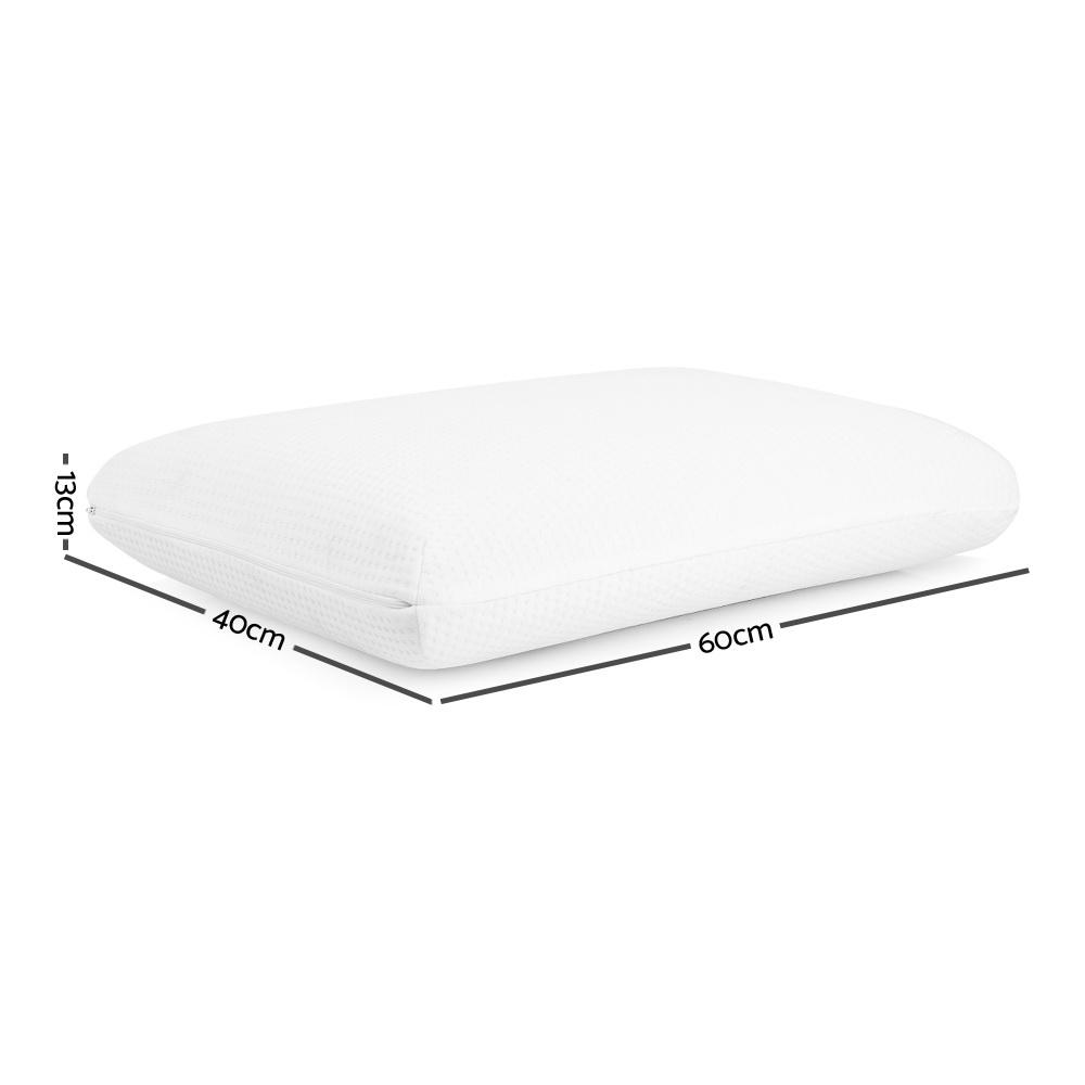 Giselle Bedding Set of 2 Cool Gel Memory Foam Pillow - Evopia