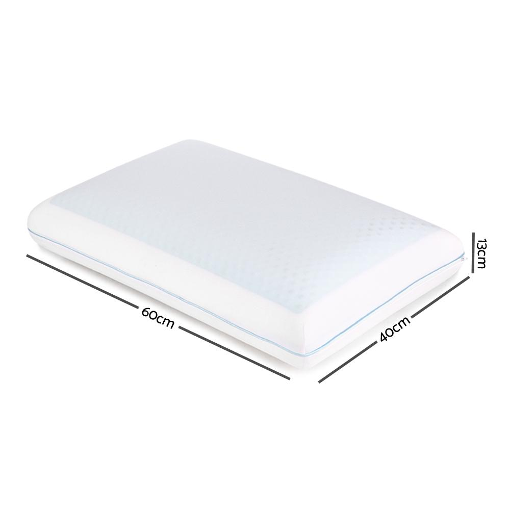 Giselle Bedding Gel Top Memory Foam Pillow - Evopia