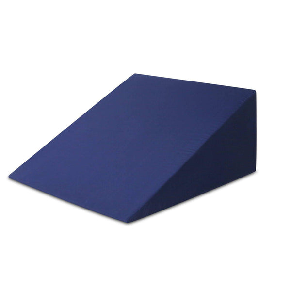 Giselle Bedding Foam Wedge Back Support Pillow - Blue - Evopia