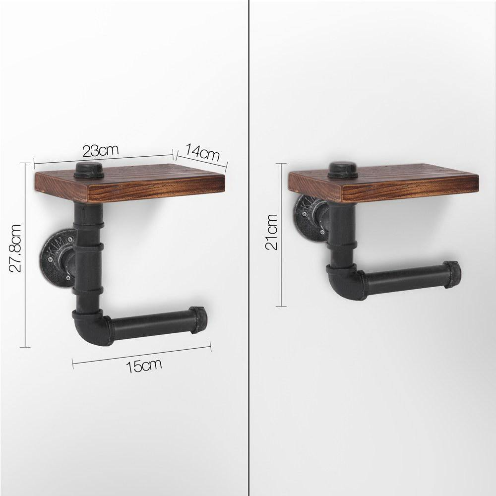 Industrial Style Wall Shelves Brackets - Evopia