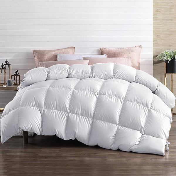 Giselle 700gsm Goose Feather and Down Quilt - Evopia