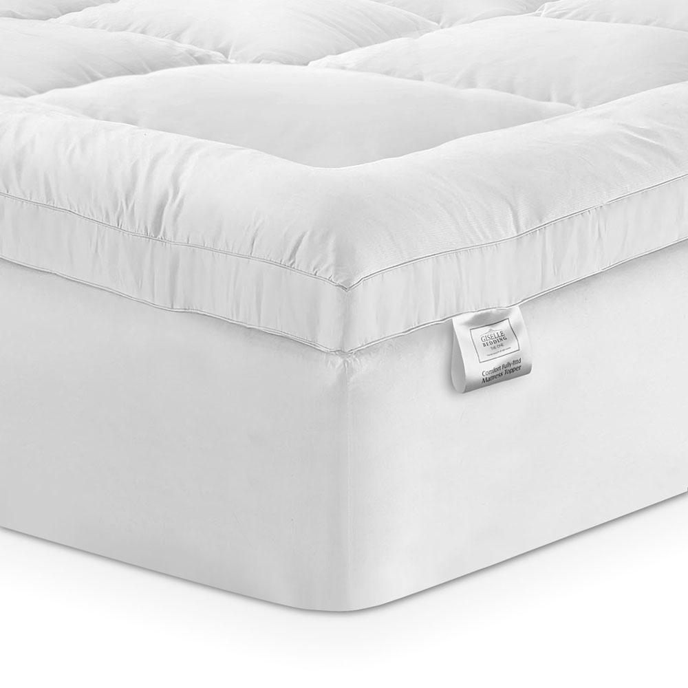 GISELLE PILLOWTOP BAMBOO MATTRESS TOPPER - Evopia