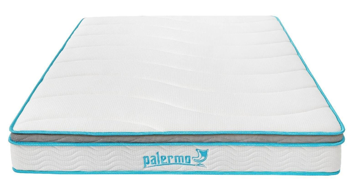Palermo Mattress 20cm Memory Foam and Innerspring Hybrid Double