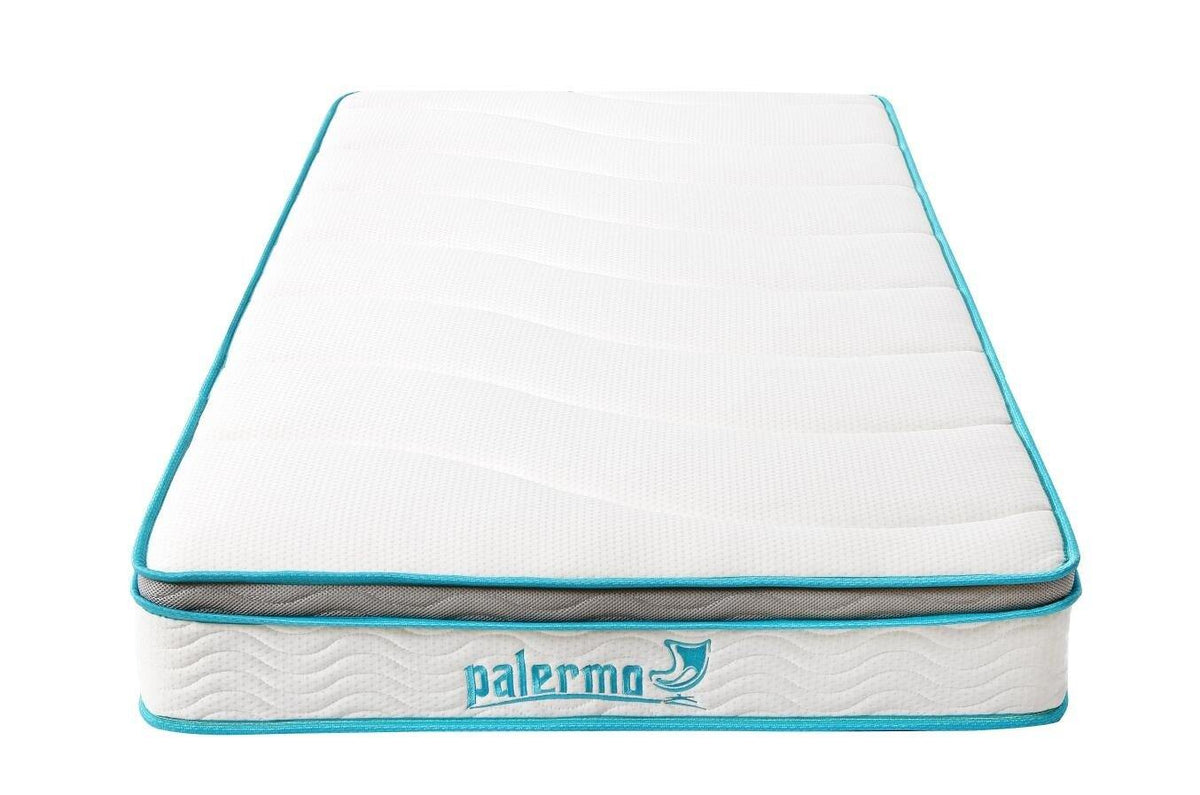 Palermo Single 20cm Memory Foam and Innerspring Hybrid Mattress